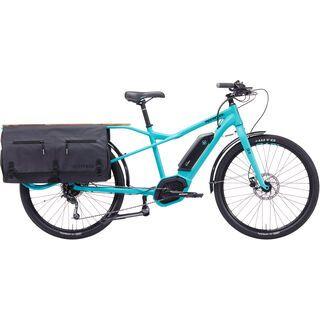 Kona *** 2. Wahl *** Electric Ute Lastenrad Größe: 45,7 cm (nur Performance Line!) 2019, cyan w/ charcoal - E-Bike
