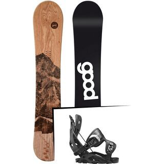 Set: goodboards Wooden 2017 + Flow Fuse (1718351S)