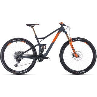 Cube Stereo 150 C:68 TM 29 2020, grey´n´orange - Mountainbike