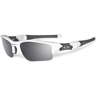 Oakley Flak Jacket XLJ, Polished White/Black Iridium - Sportbrille