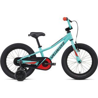 Specialized Riprock Coaster 16 2017, turquoise/red/black - Kinderfahrrad