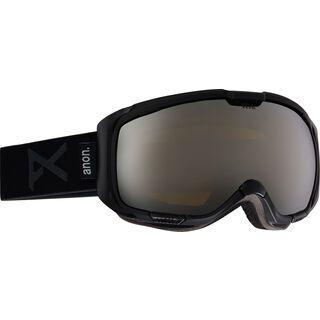 Anon M1 + Spare Lens, black/silver solex - Skibrille