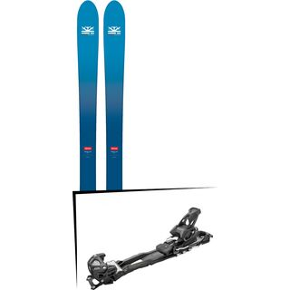 Set: DPS Skis Wailer F106 Foundation 2018 + Tyrolia Adrenalin 13 AT solid black