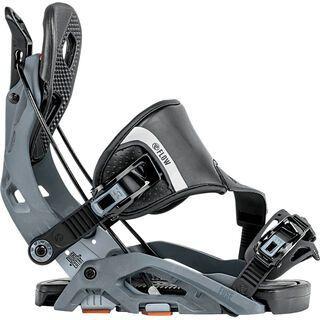 Flow Fuse Hybrid 2018, gun metal - Snowboardbindung