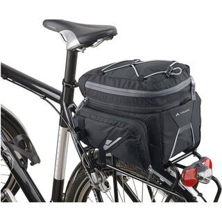 Vaude Silkroad Plus, black - Gepäckträgertasche