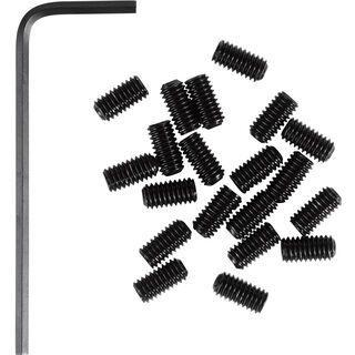 Cube RFR Pedal-Pins Slug, black