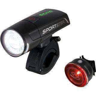 Sigma Beleuchtungs-Set Sportster + Mono RL, schwarz