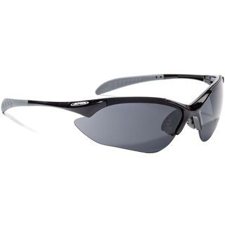 Alpina Tri-Quatox inkl. Wechselscheibe, black/Lens: ceramic mirror black - Sportbrille