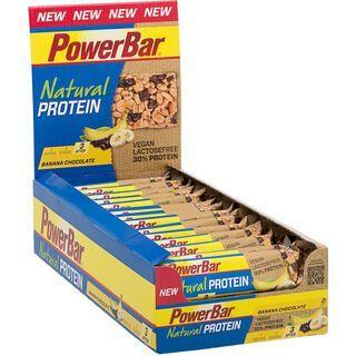 PowerBar Natural Protein (Vegan) - Banana Chocolate (Box) - Proteinriegel