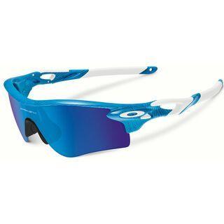 Oakley RadarLock Path Fingerprint inkl. Wechselgläser, sky blue/Lens: sapphire iridium - Sportbrille