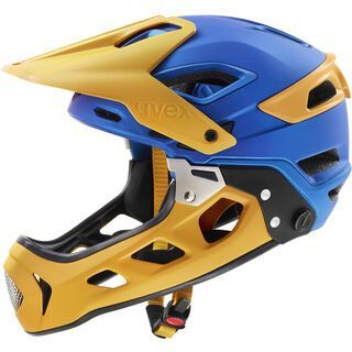 uvex jakkyl hde 2.0, blue energy mat - Fahrradhelm