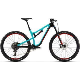 Rocky Mountain Instinct Carbon 50 2019, black/turquoise/red - Mountainbike