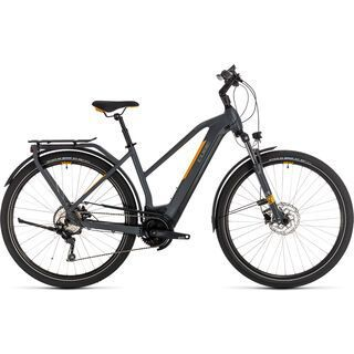 Cube Kathmandu Hybrid Pro 500 Trapeze 2020, grey´n´orange - E-Bike