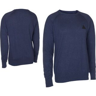 ION Knit Sweat Transmission, night blue melange - Pullover