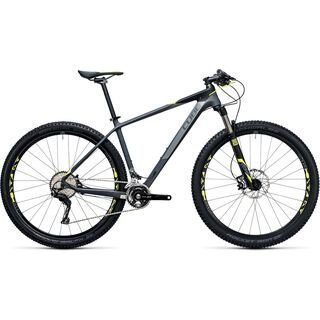 Cube Reaction GTC Pro 29 2017, grey´n´flashyellow - Mountainbike