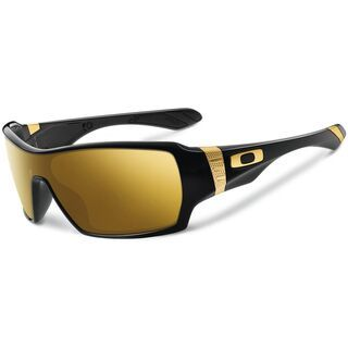 Oakley Offshoot Shaun White Gold Series, Polished Black/24K Iridium - Sonnenbrille