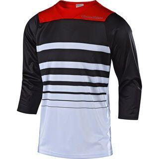 TroyLee Designs Ruckus Streamline Jersey, white/black - Radtrikot