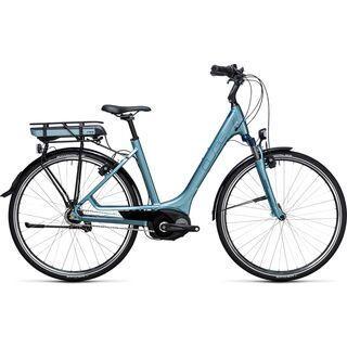 Cube Travel Hybrid ONE 500 Easy Entry 2017, bluegreen´n´blue - E-Bike