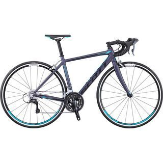 Scott Contessa Speedster 45 2016, anthracite/turquoise - Rennrad