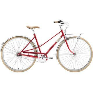 Creme Cycles Caferacer Lady Solo 2018, red - Cityrad