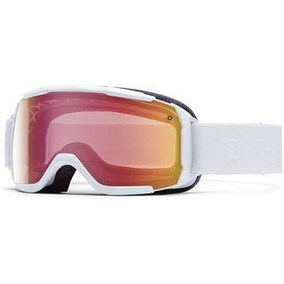 Smith Showcase OTG, white gbf/red sonsor mirror - Skibrille
