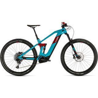 Cube Stereo Hybrid 140 HPC Race 500 29 2020, petrol´n´red - E-Bike