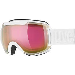 uvex downhill 2000 FM, white/Lens: mirror pink - Skibrille