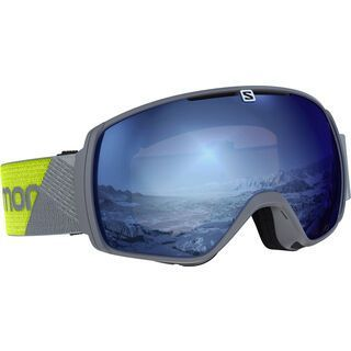 Salomon XT One Sigma, grey/neon/Lens: ml sky blue - Skibrille