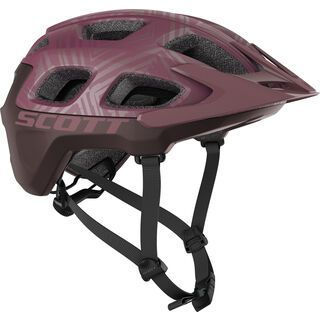 Scott Vivo Plus Helmet, cassis pink/maroon red - Fahrradhelm