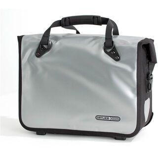 Ortlieb Office-Bag QL2, silber-schwarz - Fahrradtasche