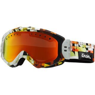 Anon Majestic Painted, Chop/Red Solex - Skibrille