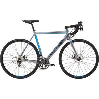 Cannondale CAAD Optimo Disc 105 2017, grey/blue - Rennrad