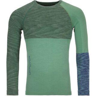 Ortovox 230 Merino Competition Long Sleeve M, green isar blend - Unterhemd