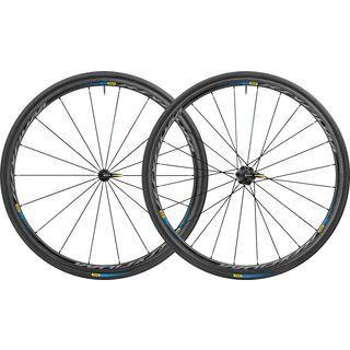 Mavic Ksyrium Pro Carbone SL T Haute Route, black - Laufradsatz