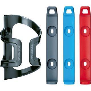 Topeak DualSide Cage EX, grey/red/blue - Flaschenhalter