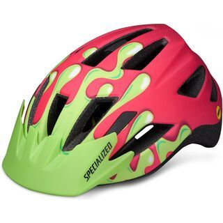 Specialized Shuffle Youth LED MIPS, acid pink slime - Fahrradhelm