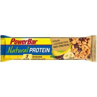 PowerBar Natural Protein (Vegan) - Banana Chocolate - Proteinriegel