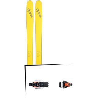 DPS Skis Set: Wailer 112 RP2 Pure3 2016 + Salomon STH2 WTR 16