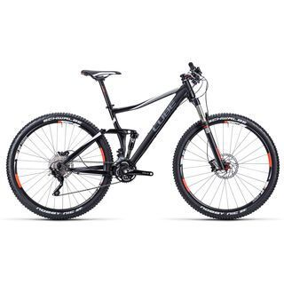 Cube Stereo 120 HPA Pro 29 2015, black / white / red - Mountainbike