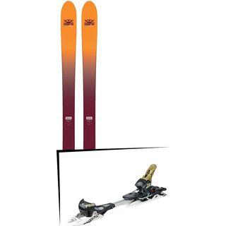 Set: DPS Skis Wailer F99 Foundation 2018 + Fritschi Diamir Freeride Pro schwarz-olive