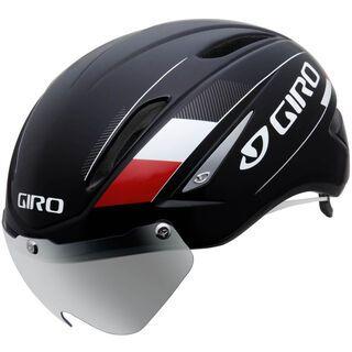 Giro Air Attack Shield, black/red - Fahrradhelm