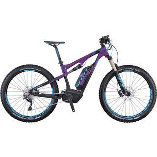 Scott E-Genius Contessa 720 Plus 2016, black/purple/blue - E-Bike