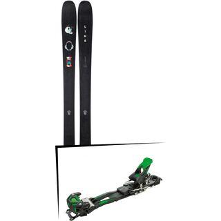 Set: Line Chronic 2019 + Tyrolia Adrenalin 16 solid black flash green