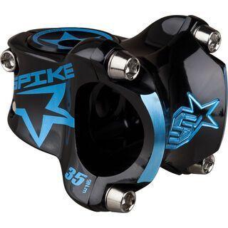 Spank Spike Bearclaw Stem, black/sky blue - Vorbau