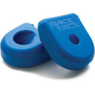 Race Face Crank Boot - Kurbelarmschutz, blue