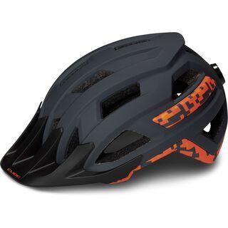 Cube Helm Rook grey´n´orange