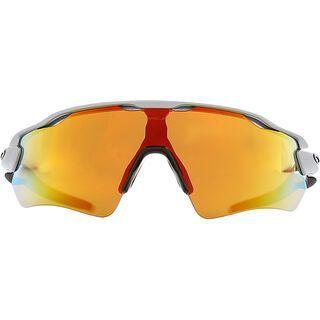 Oakley Radar EV Path, silver/Lens: fire iridium - Sportbrille