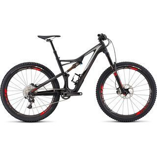 Specialized S-Works Stumpjumper FSR 650b 2016, carbon/white/red - Mountainbike