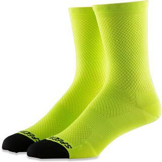 Specialized Hydrogen Vent Tall Sock, hyper green - Radsocken
