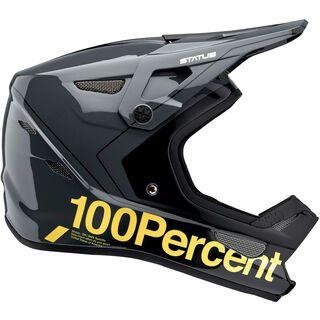 100% Status DH/BMX, carby charcoal - Fahrradhelm